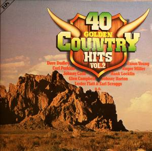 Cover - Carl Belew: 40 Golden Country-Hits, Vol. 2