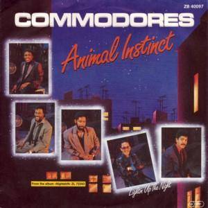 Commodores: Animal Instinct - Cover