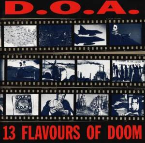 D.O.A.: 13 Flavours Of Doom - Cover