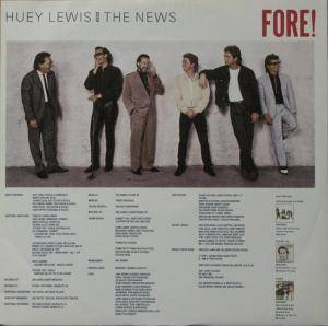 Huey Lewis & The News: Fore! (LP) - Bild 7