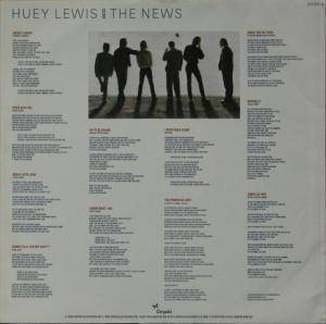 Huey Lewis & The News: Fore! (LP) - Bild 8