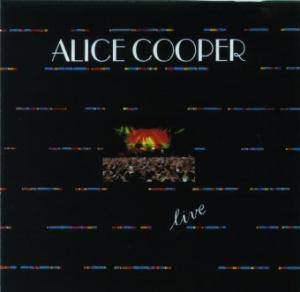Alice Cooper: Live In Cincinatti 1987 - Cover