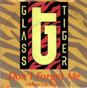 Cover - Glass Tiger: Don't Forget Me (When I'm Gone)