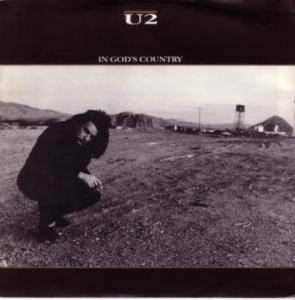 U2: In God's Country - Cover