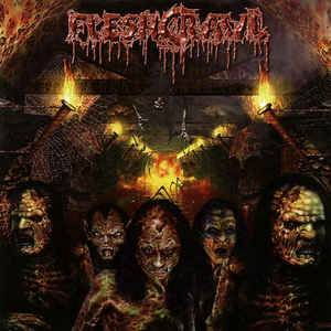 Cover - Fleshcrawl: As Blood Rains From The Sky ... We Walk The Path Of Endless Fire