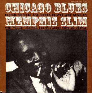 Cover - Memphis Slim: Chicago Blues