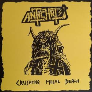 Cover - Antichrist: Crushing Metal Death