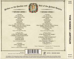 The Kinks: Arthur Or The Decline And Fall Of The British Empire (2-CD) - Bild 3