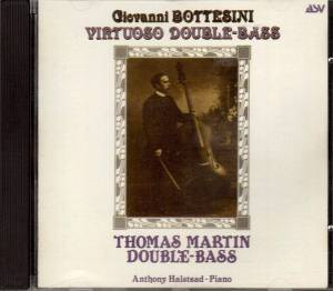 Cover - Giovanni Bottesini: Virtuoso Double-Bass