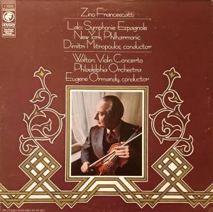 Cover - William Walton: Symphonie Espagnole / Violin Concerto