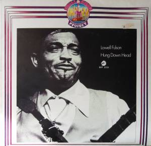 Cover - Lowell Fulson: Hung Down Head