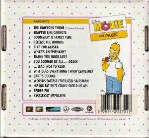 The Simpsons Movie The Music Cd 2007 Box Limited Edition Von Hans Zimmer