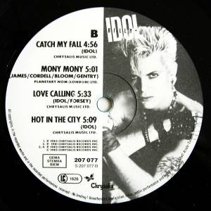 Billy Idol: Vital Idol (LP) - Bild 4