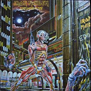 Iron Maiden: Somewhere In Time (LP) - Bild 1