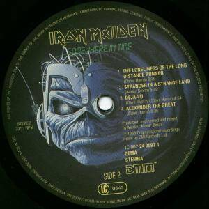 Iron Maiden: Somewhere In Time (LP) - Bild 4