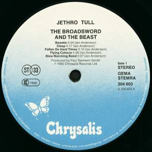 Jethro Tull: The Broadsword And The Beast (LP) - Bild 5