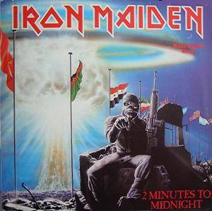 Iron Maiden: 2 Minutes To Midnight - Cover
