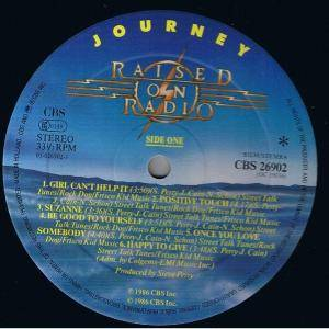 Journey: Raised On Radio (LP) - Bild 2