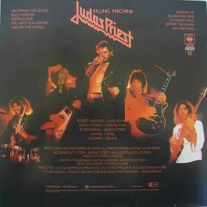 Judas Priest: Killing Machine (LP) - Bild 2