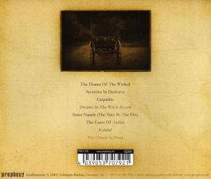 The Vision Bleak: Carpathia - A Dramatic Poem (CD) - Bild 2