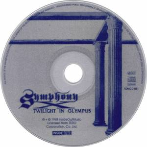 Symphony X: Twilight In Olympus (CD) - Bild 3