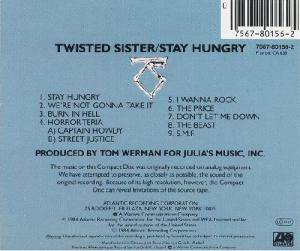 Twisted Sister: Stay Hungry (CD) - Bild 2