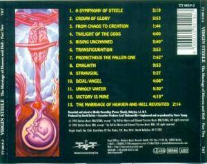 Virgin Steele: The Marriage Of Heaven And Hell Part Two (CD) - Bild 2