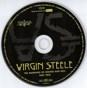 Virgin Steele: The Marriage Of Heaven And Hell Part Two (CD) - Bild 4