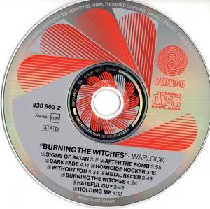 Warlock: Burning The Witches (CD) - Bild 3