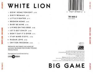 White Lion: Big Game (CD) - Bild 3