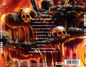 Wizard: Head Of The Deceiver (CD) - Bild 2