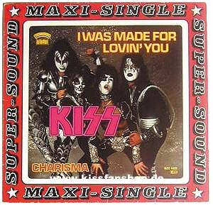 "KISS: I Was Made For Lovin' You (12"") - Bild 1"