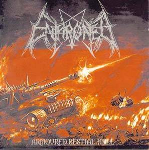 Cover - Enthroned: Armoured Bestial Hell