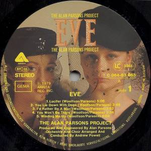 The Alan Parsons Project: Eve (LP) - Bild 4