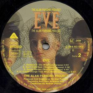 The Alan Parsons Project: Eve (LP) - Bild 5