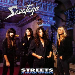 Cover - Savatage: Streets - A Rock Opera