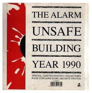 The Alarm: Unsafe Building Year 1990 - Cover