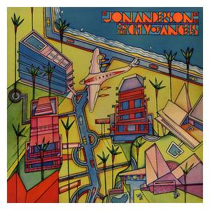 Jon Anderson: In The City Of Angels - Cover