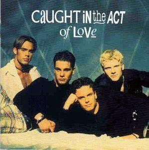 Caught In The Act: Caught In The Act Of Love - Cover
