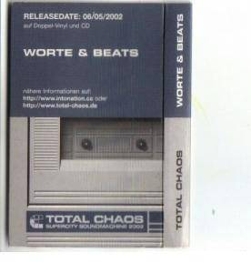 Total Chaos: Worte & Beats - Cover