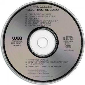 Phil Collins: Hello, I Must Be Going! (CD) - Bild 3