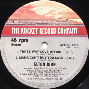 "Elton John: Are You Ready For Love (12"") - Bild 4"