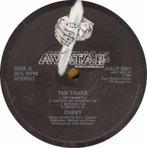 Chevy: The Taker (LP) - Bild 4