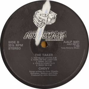Chevy: The Taker (LP) - Bild 5