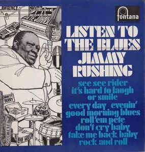 Cover - Jimmy Rushing: Listen To The Blues