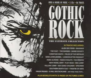 Cover - Red Lorry Yellow Lorry: Gothic Rock: The Ultimate Collection
