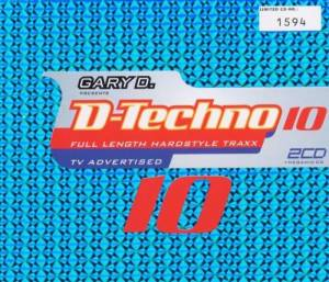 Cover - Southstylers: Gary D. Presents D-Techno 10