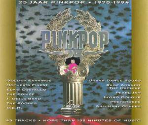 Cover - Mission, The: 25 Jaar Pinkpop - 1970-1994