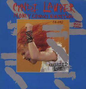 Cyndi Lauper: Money Changes Everything - Cover