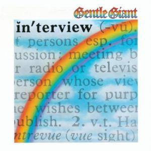 Gentle Giant: In'terview - Cover
